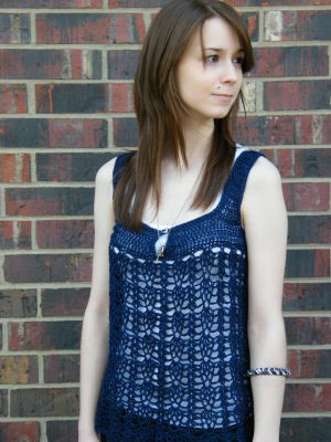 Clarice Sleeveless Top Down Summer Free Crochet Pattern