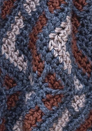 Aspen Neckwarmer | CrochetKim Free Crochet Pattern