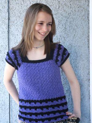 CrochetKim Free Crochet Pattern | Brianna Spring Top @crochetkim