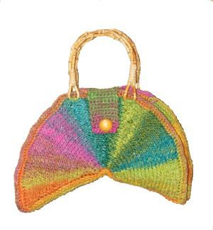 CrochetKim Free Crochet Pattern | Color Wheel Bag @crochetkim