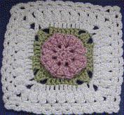 CrochetKim Free Crochet Pattern | Crimson Roses Afghan @crochetkim