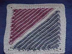 CrochetKim Free Crochet Pattern   Cro-Hook Dishcloth @crochetkim