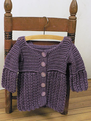 Toddler Hooded Jacket |CrochetKim Free Crochet Pattern