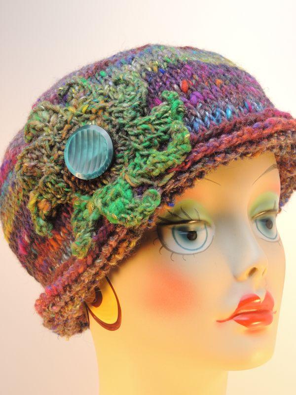 Maura Rolled Brim Hat Free Tunisian Crochet Pattern Crochetkim