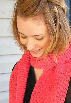 CrochetKim Free Crochet Pattern | Monroe Scarf @crochetkim