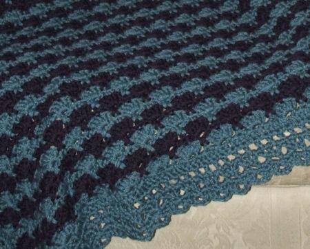 CrochetKim Free Crochet Pattern   Regal Fans Afghan @crochetkim