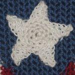 CrochetKim Free Crochet Pattern | Star Embellishment Applique @crochetkim