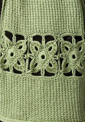 CrochetKim Free Crochet Knit Combo Pattern   Stone Creek Scarf