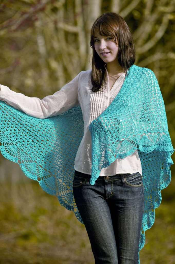 Dreams Shawl CrochetKim Free Crochet Pattern
