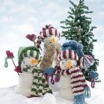 Snowman Free Crochet Pattern