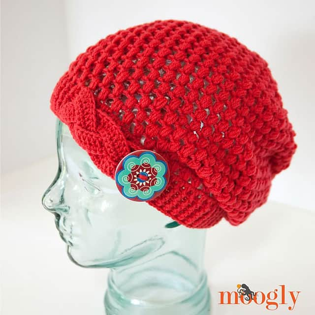 Free Crochet Pattern: Madly In Love Hat