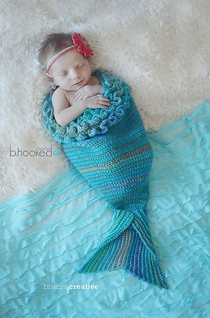 Free Crochet Pattern: Mystic Mermaid Cocoon