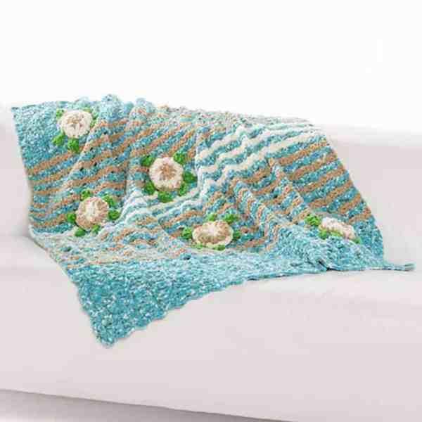 Sea Turtle Blanket Free Crochet Pattern Crochetkim