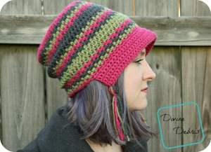 Free Crochet Pattern: Willow Bonnet