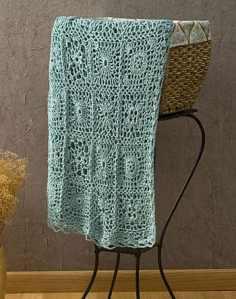 CrochetKim Free Crochet Pattern   Andante Throw