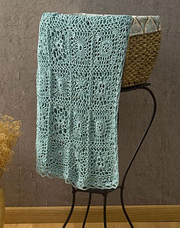 Andante Throw Free Crochet Pattern