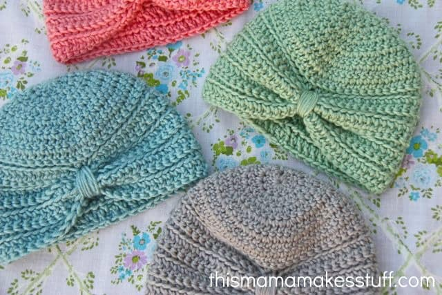 Free Crochet Pattern: Baby Turban