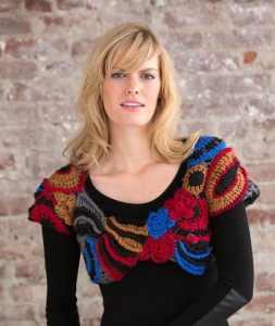 Free Crochet Pattern: Freeform Cropped Topper