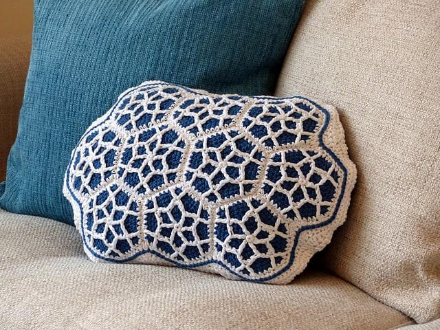 Moroccan Cushion Free Crochet Pattern Crochetkim