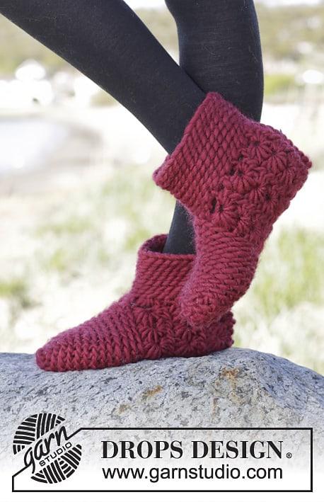 Free Crochet Pattern: Chassé Boots