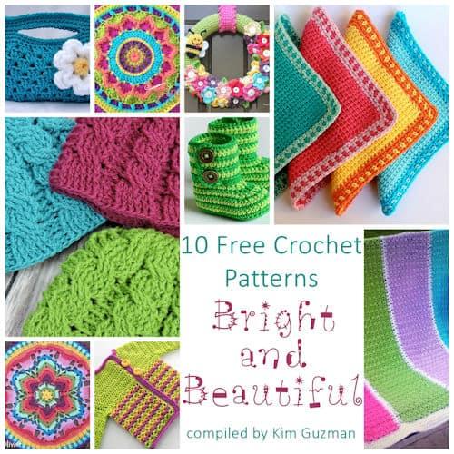 Link Blast: 10 Bright and Beautiful Free Crochet Patterns
