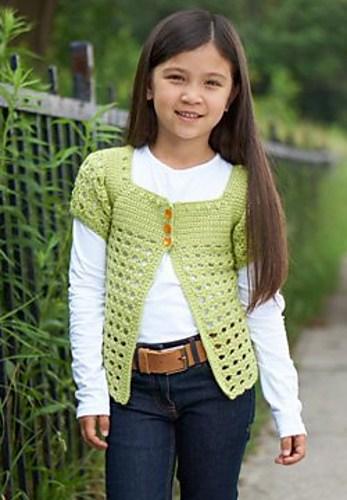 Free Crochet Pattern: Playground Cardigan