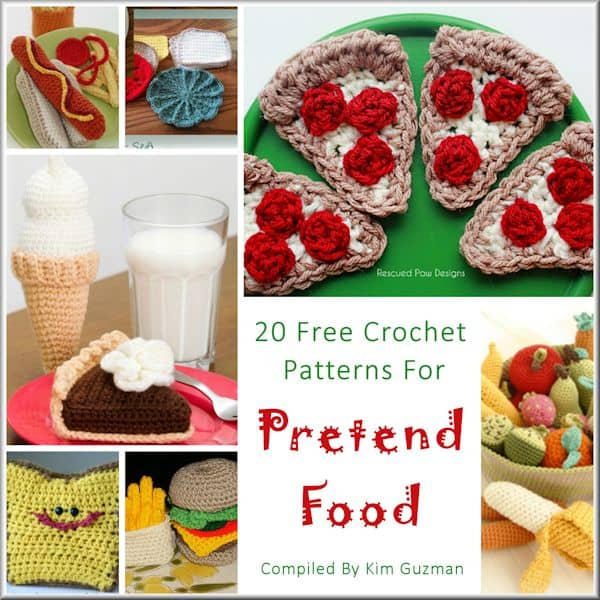 Link Blast: Free Crochet Patterns for Pretend Play Food