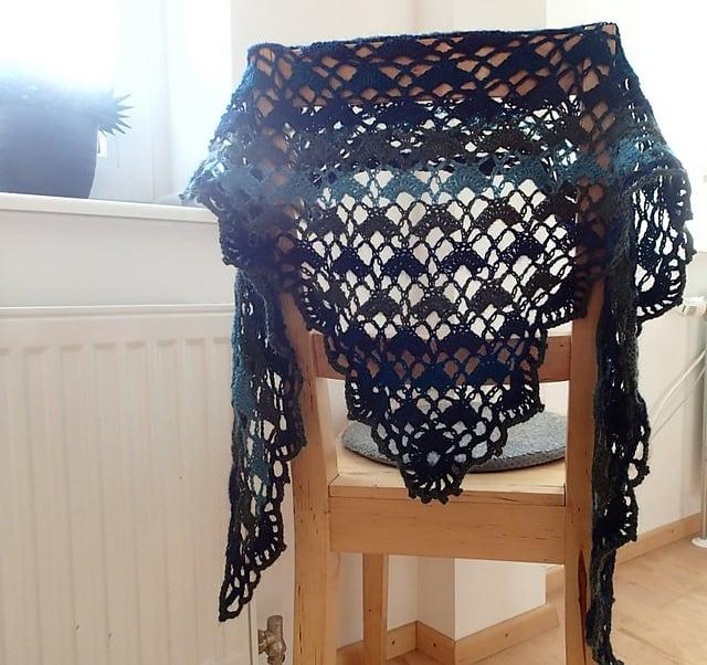 Free Crochet Pattern: Nachtgarten