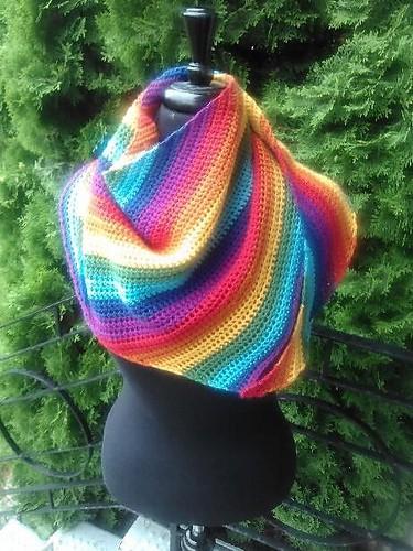 Free Crochet Pattern: Outback Shawl