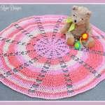 Free Crochet Pattern: Sugar Wheel Baby Blanket