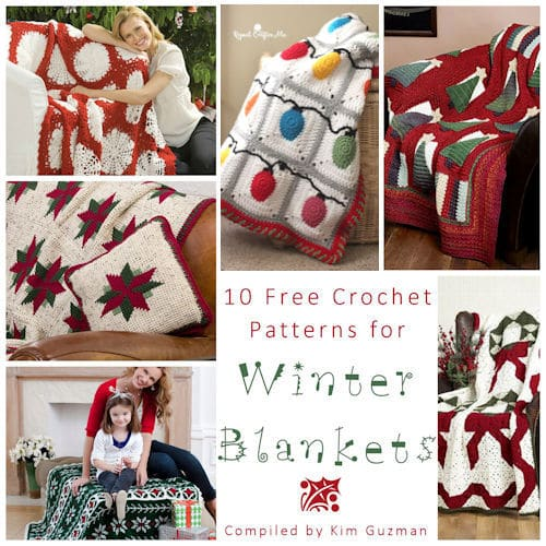 Link Blast: 10 Free Crochet Patterns for Winter Blankets