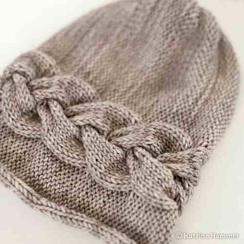 Free Knit Pattern: Sideways Braid Cable