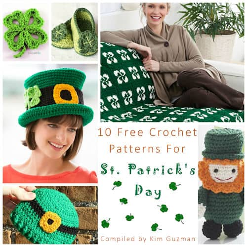Link Blast: 10 Free Crochet Patterns for St. Patrick's Day