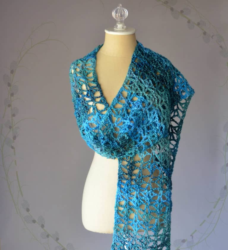 Free Crochet Pattern: Swift Current Scarf
