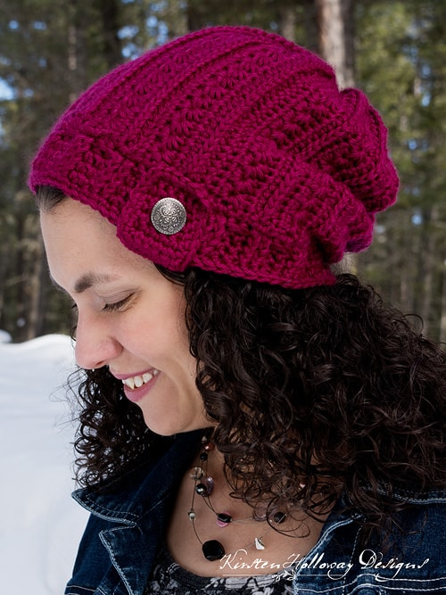 Free Crochet Pattern: Heartstrings Slouch
