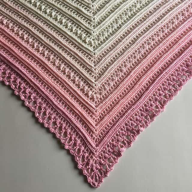 Free Crochet Pattern: Secret Paths Shawl