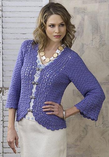 Sundara Jacket Free Crochet Pattern