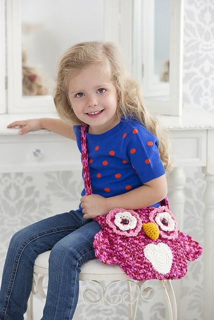 Wise Owl Tote Bag Free Crochet Pattern Crochetkim