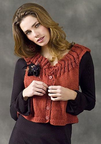 Strasbourg Vest | CrochetKim Free Knit Pattern