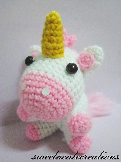 Free Crochet Pattern: Unicorn Amigurumi