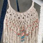 Free Crochet Pattern: Beaded Bag