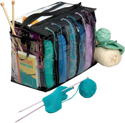 Make It Crochet: Yarn Organizer Bag