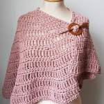 Free Crochet Pattern: Simply Casual Small Shawl
