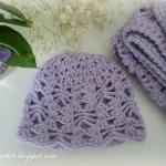 Lacy Stitch Newborn Hat