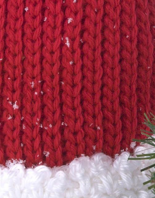 Baby Santa Hat | CrochetKim Free Crochet Pattern