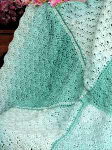 Lucky Day Baby Blanket | CrochetKim Free Crochet Pattern