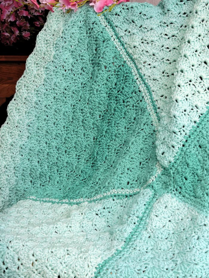 Lucky Day Baby Blanket Free Crochet Pattern Crochetkim