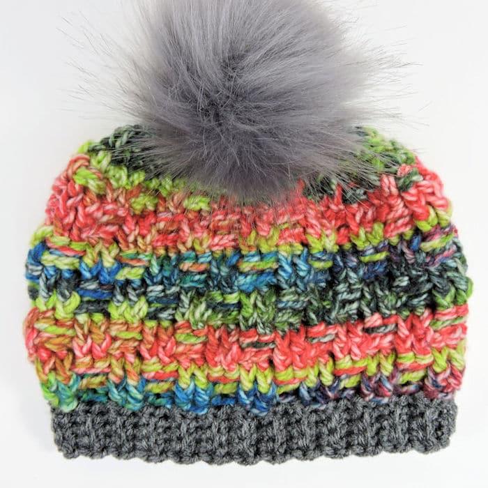 CrochetKim Free Crochet Pattern | Candy Shoppe Beanie