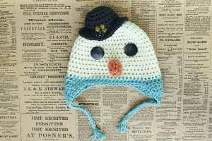 Frosty the Snowman Hat by Jess Coppom