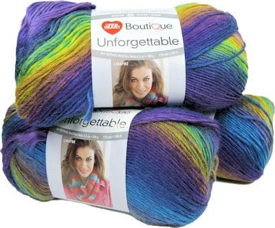 Make It Crochet Prize Entry: 3 Skeins Red Heart unforgettable in Gossamer